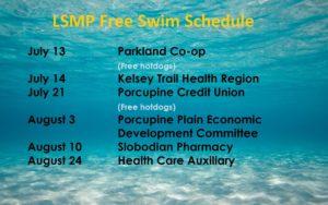 Free Swims 2016