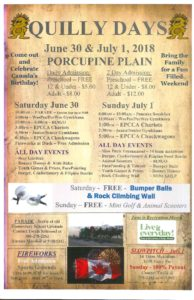 Quilly Days Sports Day @ Sports Grounds | Porcupine Plain | Saskatchewan | Canada
