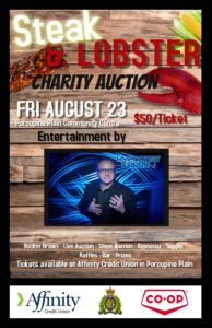 Steak & Lobster Charity Event @ Community Hall | Porcupine Plain | Saskatchewan | Canada