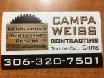 Campa Weiss Contracting