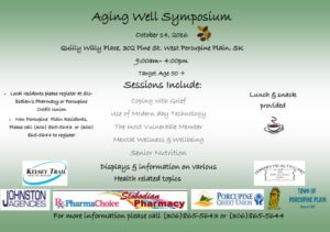 Aging Well Symposium @ Quillys Community Place