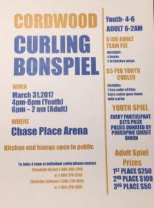 Cordwood Bonspiel @ Chase Place  Arena | Porcupine Plain | Saskatchewan | Canada