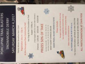 Snowmobile Rally @ Porcupine Community Hall | Porcupine Plain | Saskatchewan | Canada