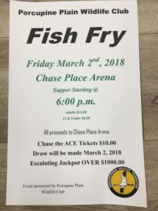 Fish Fry @ Chase Place  Arena
