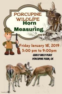 PP Wildlife Horn Measuring @ Quillys Community Place Gym