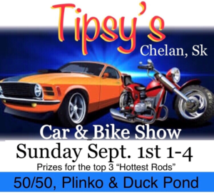 Tipsy's Presents: Car & Bike Show @ Tipsy's