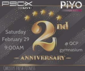 FREE Anniversary Fitness Classes @ QCP Gymnasium