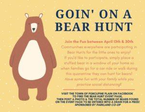 WINDOW Bear Hunt