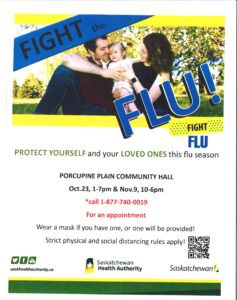 Flu Clinic @ Porcupine Plain Community Hall