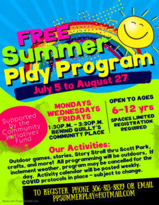 Summer Play Program @ Quilly's Community Place
