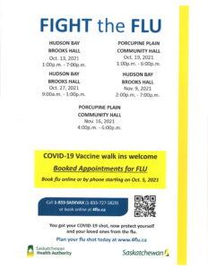 Flu Clinic @ Porcupine Plain Community Hall